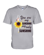 You Are My Sunshine V-Neck T-Shirt tile
