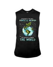 Education Is The Most Powerful Sleeveless Tee thumbnail