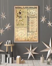 Baseball Player Knowledge 11x17 Poster lifestyle-holiday-poster-1