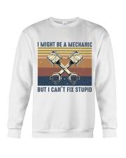 I Might Be A Mechanic Crewneck Sweatshirt thumbnail