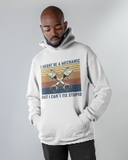 I Might Be A Mechanic Hooded Sweatshirt apparel-hooded-sweatshirt-lifestyle-front-09