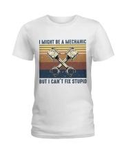 I Might Be A Mechanic Ladies T-Shirt thumbnail