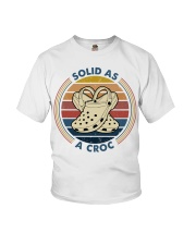 Solid As A Croc Youth T-Shirt thumbnail