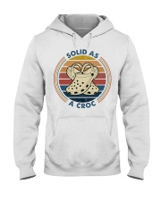 Solid As A Croc Hooded Sweatshirt thumbnail