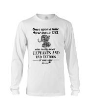 Elephants And Had Tattoos Long Sleeve Tee thumbnail
