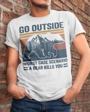 Go Outside Classic T-Shirt apparel-classic-tshirt-lifestyle-26