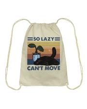 So Lazy Can't Move Drawstring Bag thumbnail