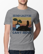 So Lazy Can't Move Classic T-Shirt lifestyle-mens-crewneck-front-13