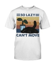 So Lazy Can't Move Premium Fit Mens Tee thumbnail