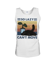 So Lazy Can't Move Unisex Tank thumbnail