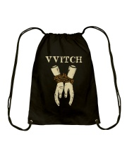 Witch Black Magic Drawstring Bag thumbnail