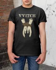 Witch Black Magic Classic T-Shirt apparel-classic-tshirt-lifestyle-31