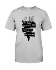 Sloth Hiking Team Classic T-Shirt thumbnail