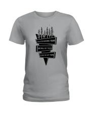 Sloth Hiking Team Ladies T-Shirt thumbnail
