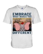 Embrace What Makes You V-Neck T-Shirt thumbnail