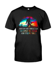 And Into The Forest I Go 3 Classic T-Shirt thumbnail