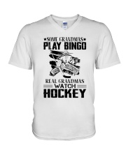 Some Grandmas Play Bingo V-Neck T-Shirt thumbnail