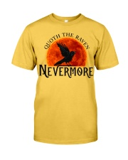 Quoth The Raven Nevermore Classic T-Shirt front