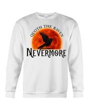 Quoth The Raven Nevermore Crewneck Sweatshirt thumbnail