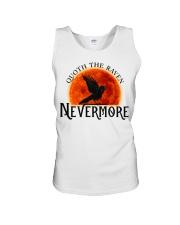 Quoth The Raven Nevermore Unisex Tank thumbnail