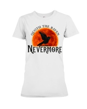 Quoth The Raven Nevermore Premium Fit Ladies Tee thumbnail