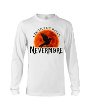 Quoth The Raven Nevermore Long Sleeve Tee thumbnail