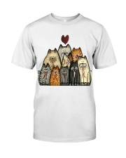 Love Cat Classic T-Shirt front