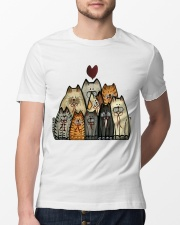 Love Cat Classic T-Shirt lifestyle-mens-crewneck-front-13