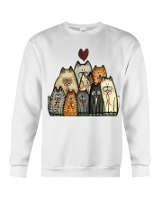 Love Cat Crewneck Sweatshirt tile