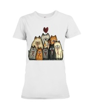 Love Cat Premium Fit Ladies Tee thumbnail