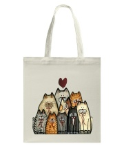 Love Cat Tote Bag thumbnail