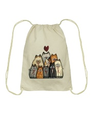 Love Cat Drawstring Bag tile