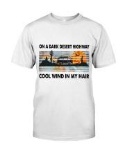 On A Dark Desert Highway Classic T-Shirt tile
