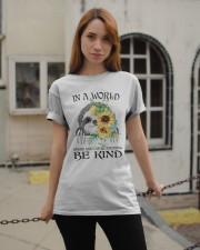 Be Kind Sunflower Classic T-Shirt apparel-classic-tshirt-lifestyle-19