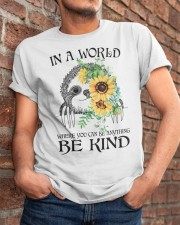 Be Kind Sunflower Classic T-Shirt apparel-classic-tshirt-lifestyle-26