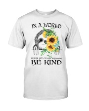 Be Kind Sunflower Classic T-Shirt thumbnail