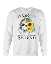 Be Kind Sunflower Crewneck Sweatshirt tile