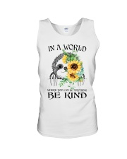 Be Kind Sunflower Unisex Tank tile