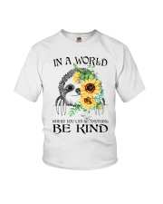 Be Kind Sunflower Youth T-Shirt thumbnail