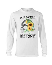 Be Kind Sunflower Long Sleeve Tee thumbnail