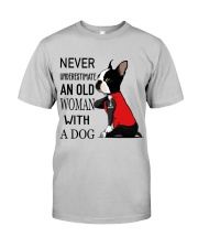 Never Underestimate Classic T-Shirt front