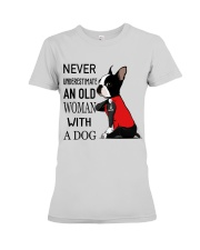 Never Underestimate Premium Fit Ladies Tee thumbnail