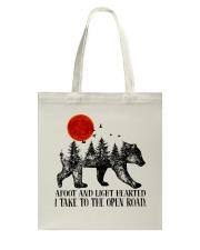 I Take To The Open Road Tote Bag thumbnail