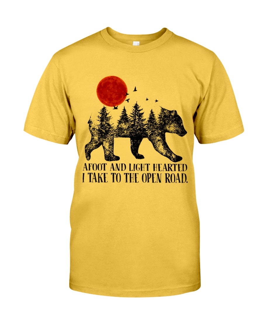 I Take To The Open Road Classic T-Shirt