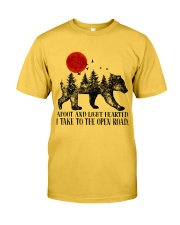 I Take To The Open Road Classic T-Shirt front