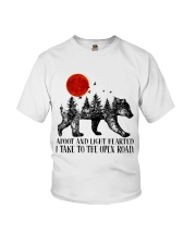 I Take To The Open Road Youth T-Shirt thumbnail
