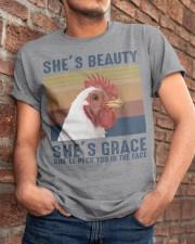 She's Beauty Classic T-Shirt apparel-classic-tshirt-lifestyle-26