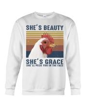 She's Beauty Crewneck Sweatshirt thumbnail