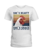 She's Beauty Ladies T-Shirt thumbnail