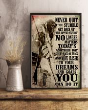 Never Quit 11x17 Poster lifestyle-poster-3